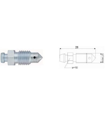 Odpowietrznik hamulca M10x1.25