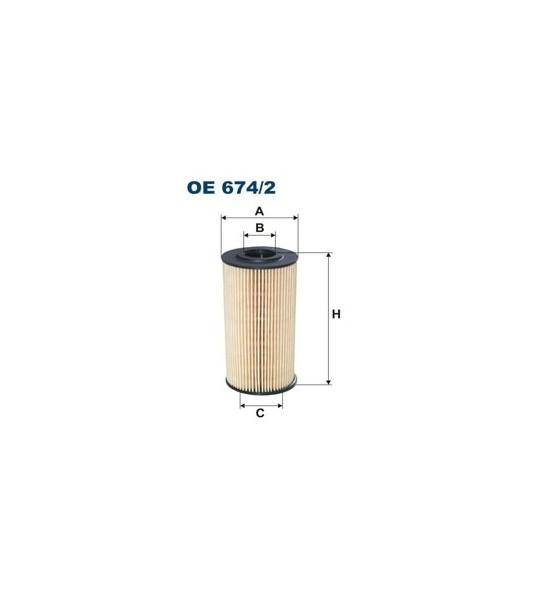 Filtr oleju OE 674/2