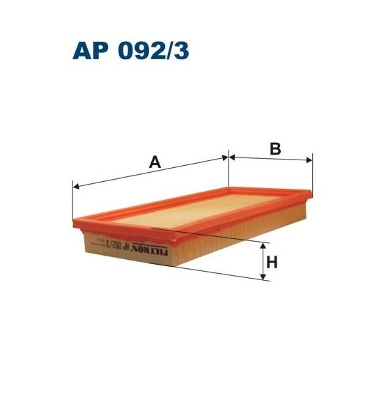 Filtr powietrza AP 092/3