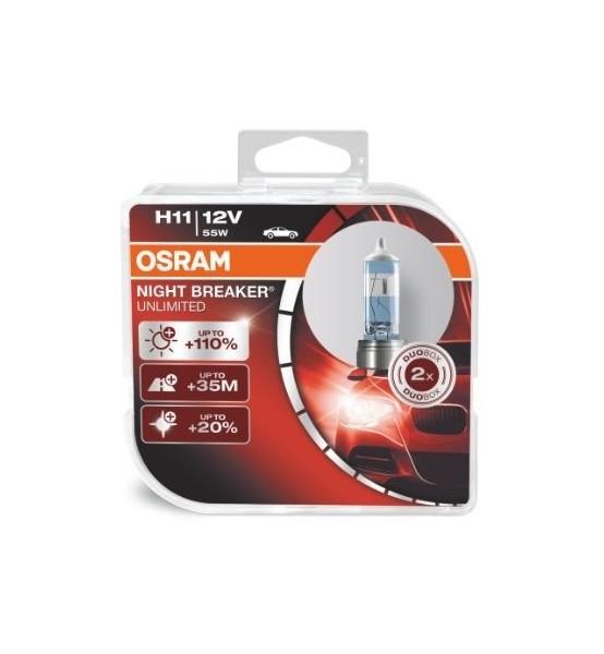 H11 12V NBU Osram DuoBox