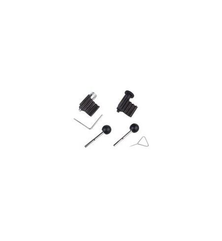 Zestaw 3 plastkiowych klamer