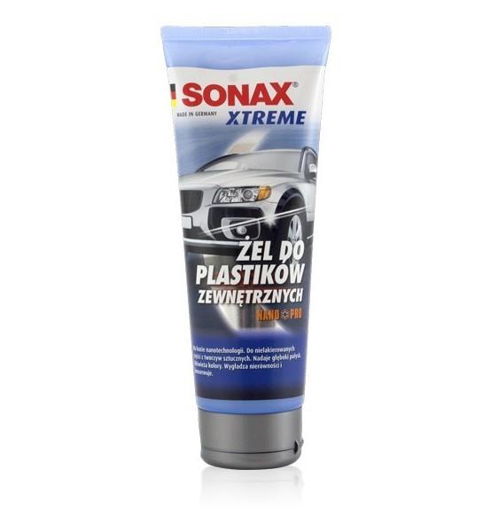 Sonax żel do plastików zewnętrznych 250 ml