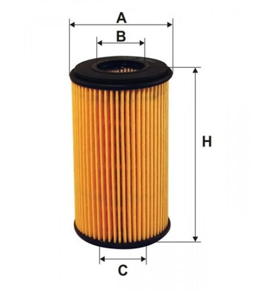 OE 666 Filtron filtr oleju