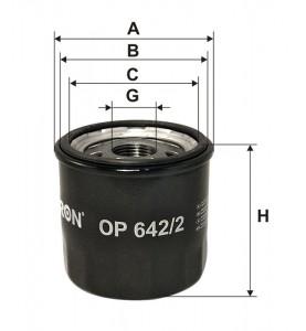 OP 642/2 Filtron filtr oleju