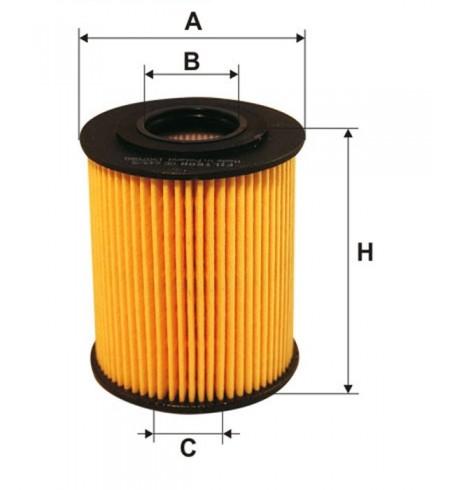 OE 649/5 Filtron filtr oleju