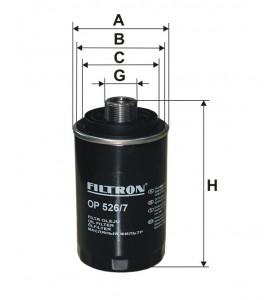 OP 526/7 Filtron filtr oleju