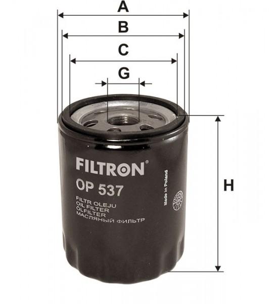 OP 537 Filtron filtr oleju