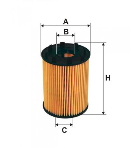 OE 670 filtr oleju Filtron