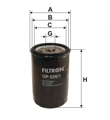 Filtr oleju OP 526/1 Filtron