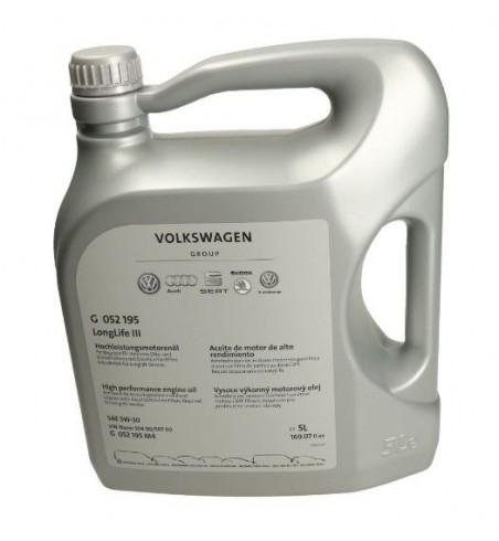 Olej OEM VAG 5W30 G 052 195 Longlife III 5 litrów
