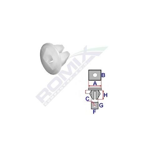 Kostka montażowa Romix 15001 - 1 szt.