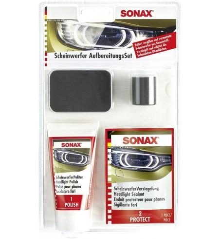 Zestaw do renowacji, renowacja reflektorów, lamp Sonax