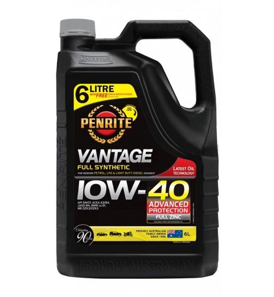 Penrite Vantage 10W40 full synthetic 6L olej syntetyczny