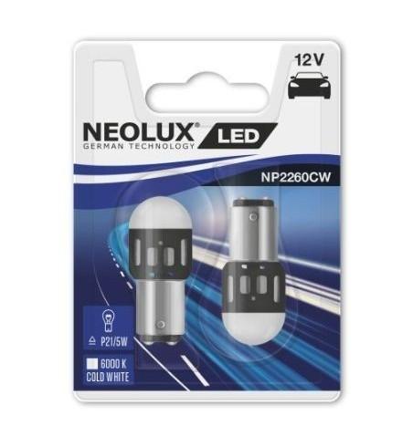 Żarówki LED P21/5W 6000K Neolux 2 szt.