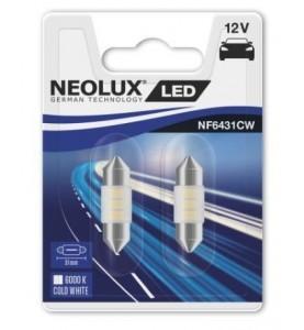 Żarówki LED C5W 31 mm 6000K Neolux 2 szt.