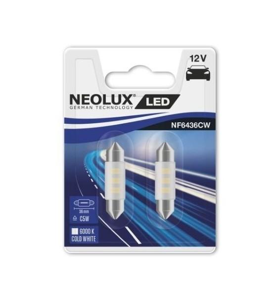 Żarówki LED C5W 36 mm Neolux 2 szt.