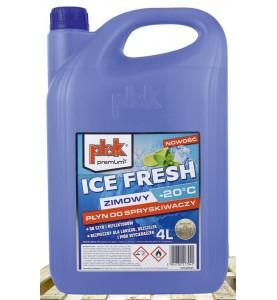 Płyn zimowy do spryskiwaczy Plak Ice Fresh 4L