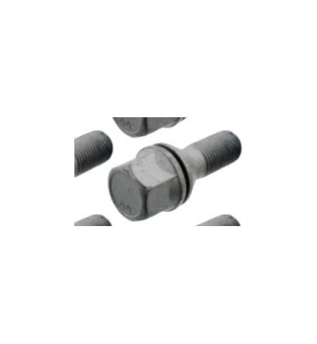 Śruby koła do felg stal,klucz 17,M12x1,25 dł.49mm