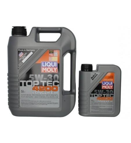 Liqui Moly TopTec 4200 5W30 LongLife 5L+1L Promocja