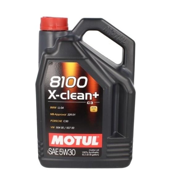 Motul 8100 X-Clean + 5W30 C3