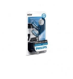 W5W Philips WhiteVision xenon effect