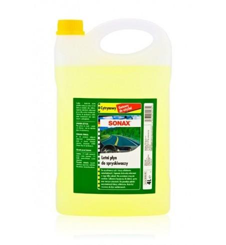 SONAX Letni Płyn do spryskiwaczy 4L - Cytrynowy