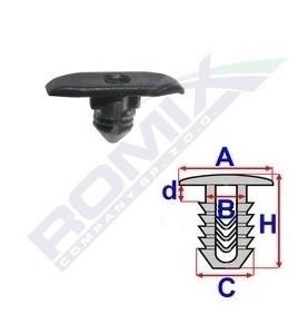 Spinka uszczelki Romix 10909 mocowanie uszczelki