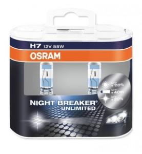 H7 12V NIGHT BREAKER UNLIMITED OSRAM 64210NBU