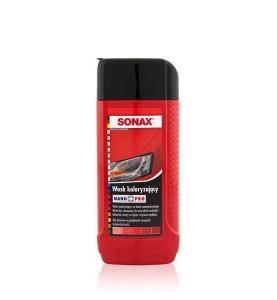 SONAX Wosk koloryzujący NanoPro czerwony 250 ml