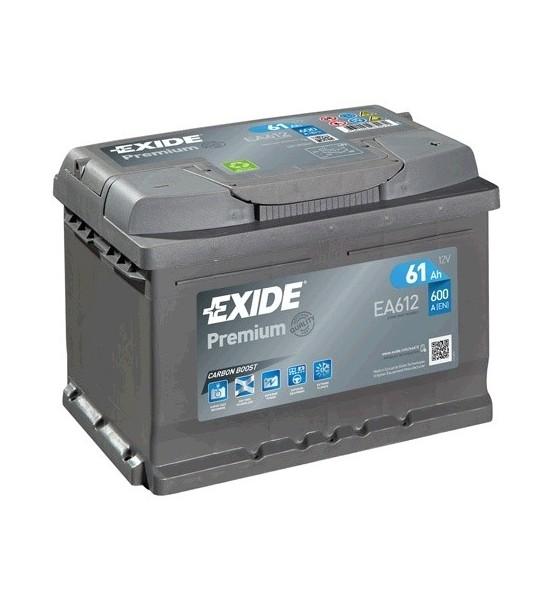 Exide EA612 Premium akumulator