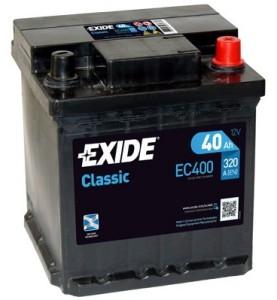 Exide EB740 akumulator