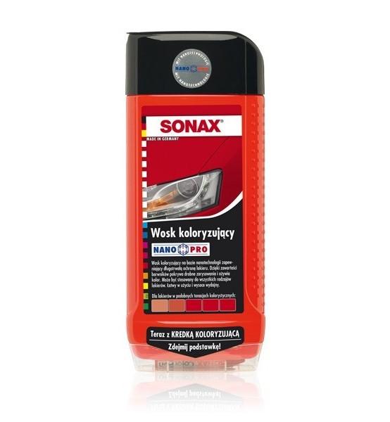 SONAX Wosk koloryzujący NanoPro czarny + kredka 500 ml