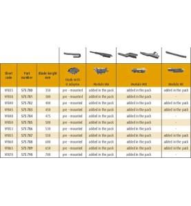 Valeo VFB50 First Flat Blade 500 mm