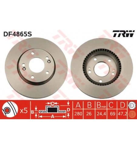 Tarcza TRW DF4865S
