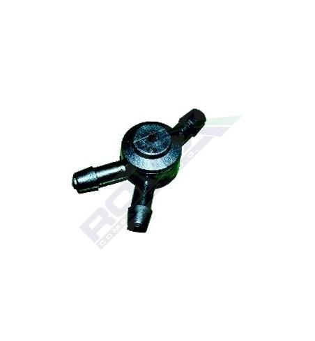 Trójnik z zzaworkiem 4,6 mm 1 szt.