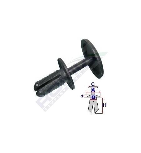 Kołek rozpotowy fi 8 mm