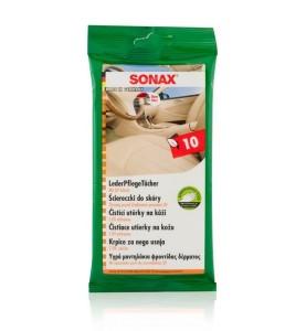 Sonax ściereczki do skóry gładkiej 10 szt.