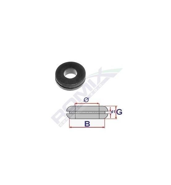 Przelotka gumowa fi 8 mm