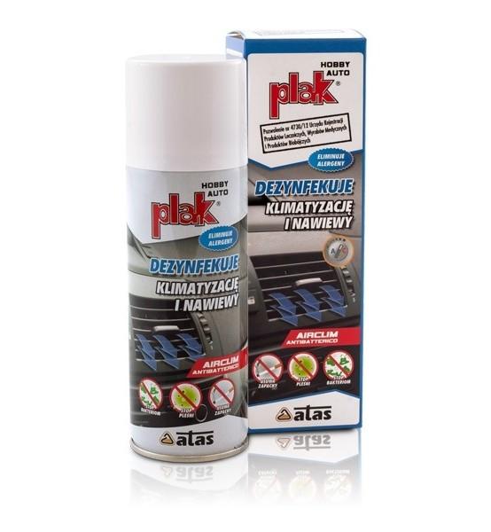 Plak Airclim Antibatterico dezynfekcja kilmatyzacji 200 ml