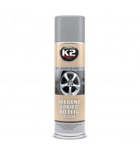K2 srebny lakier do felg 500 ml