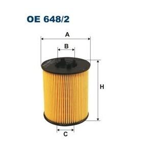 OE 648/2 Filtron filtr oleju