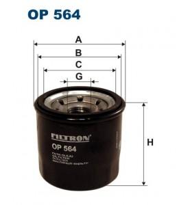 OP 564 filtr oleju Filtron