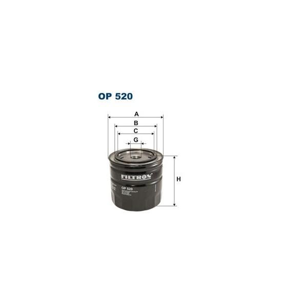 Filtr oleju OP 520 Filtron