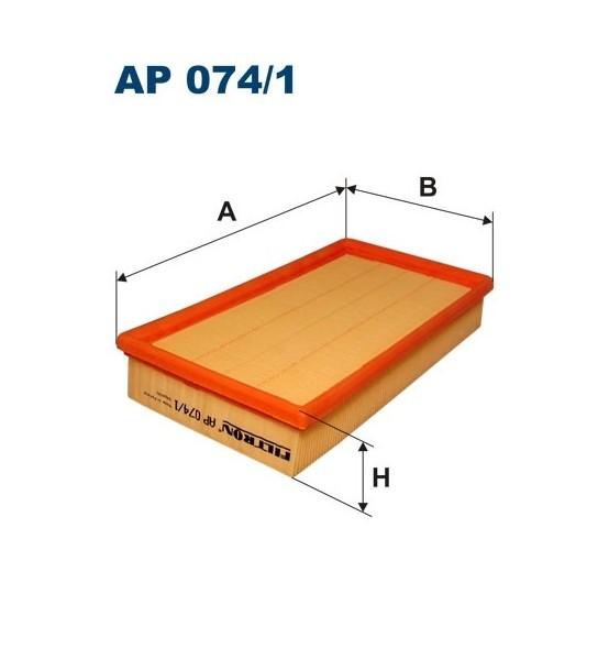 Filtr powietrz AP 074/1