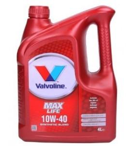 Valvoline Maxlife 10W40 4L