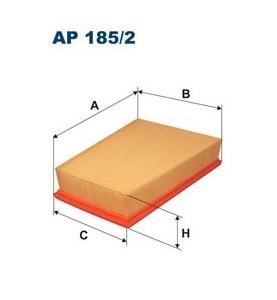 Filtr powietrza Filtron AP 185/2