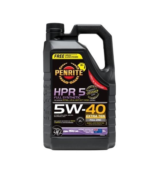 Penrite HPR 5 5W40 full synthetic